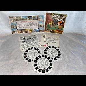 VTG Mickey Mouse view master
